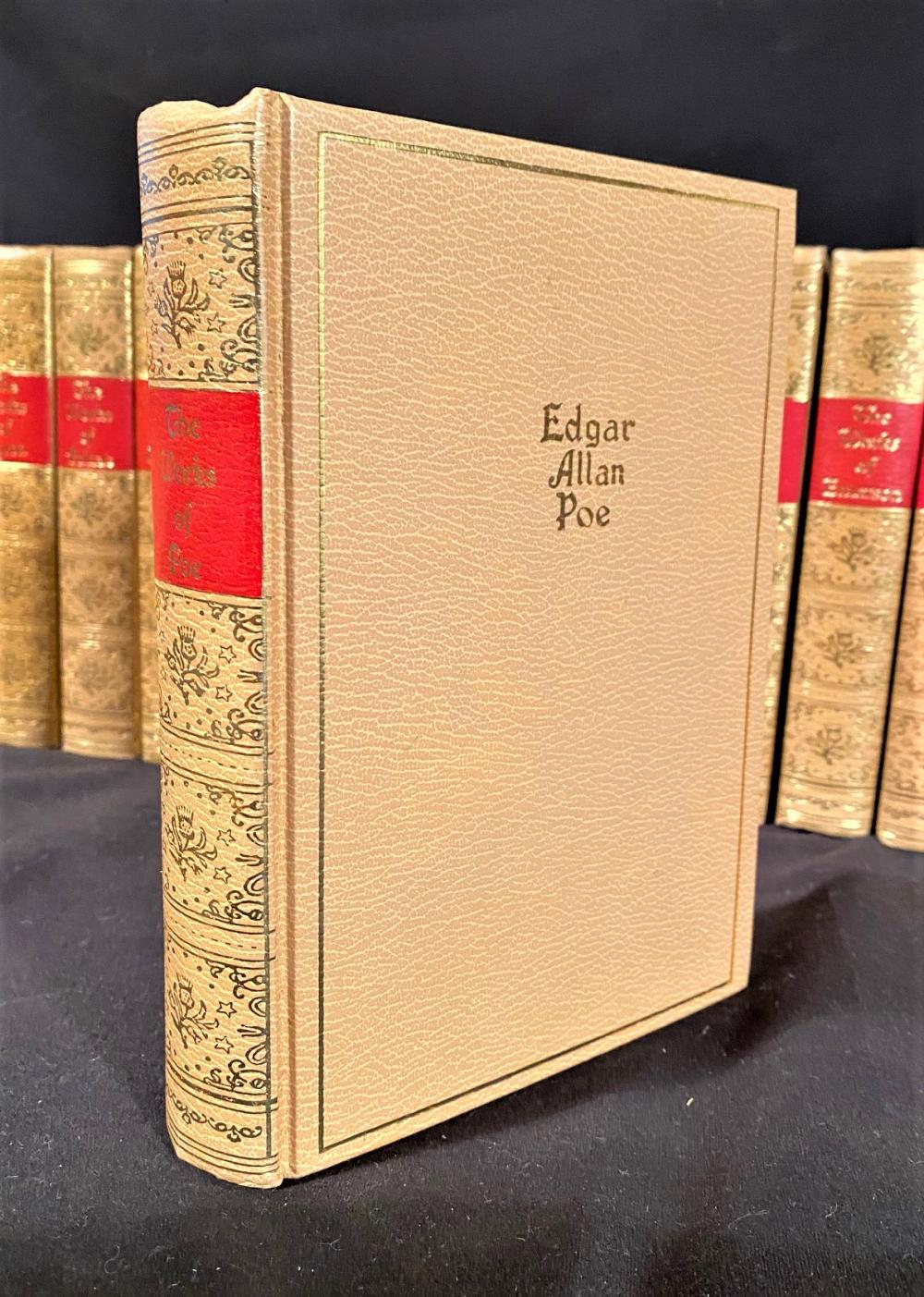 BLACKS READERS SERVICE CLASSICAL AUTHORS COLLECTION - 40 VOLUMES - LEATHERBOUND