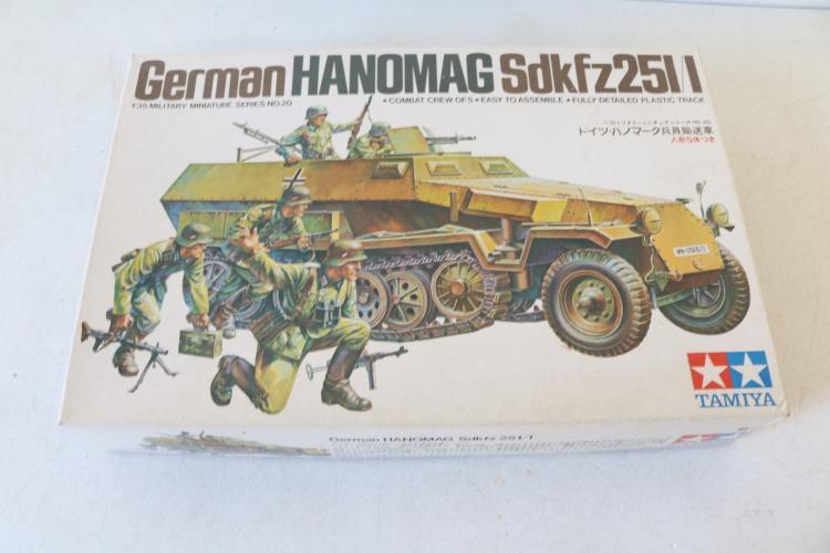 Tamita, German Hanomag Sdkfz251/1 scale model kit