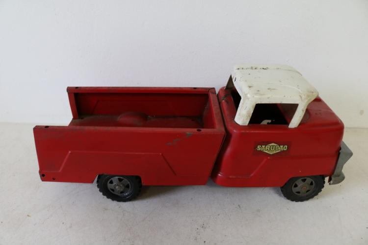 Vintage Structo Red Pick Up Truck