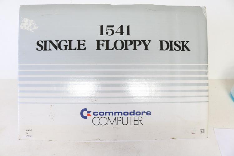 1541 Single Floppy Disk Commodore Computer