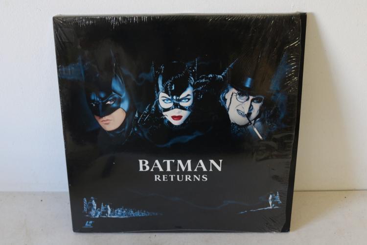 Batman Returns 1992 Laser Disc set
