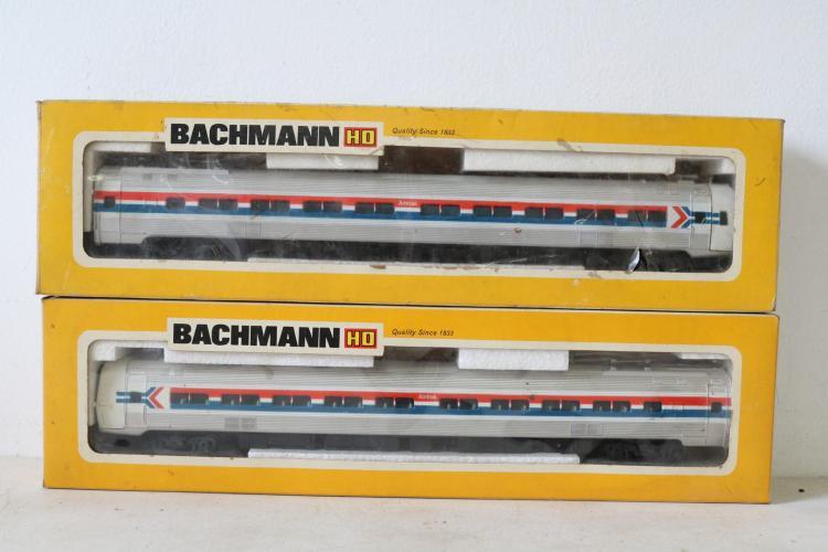 Lot of 2 Backmann H O Trains