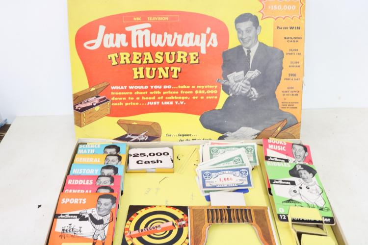 Jim Murray's Treasure Hunt