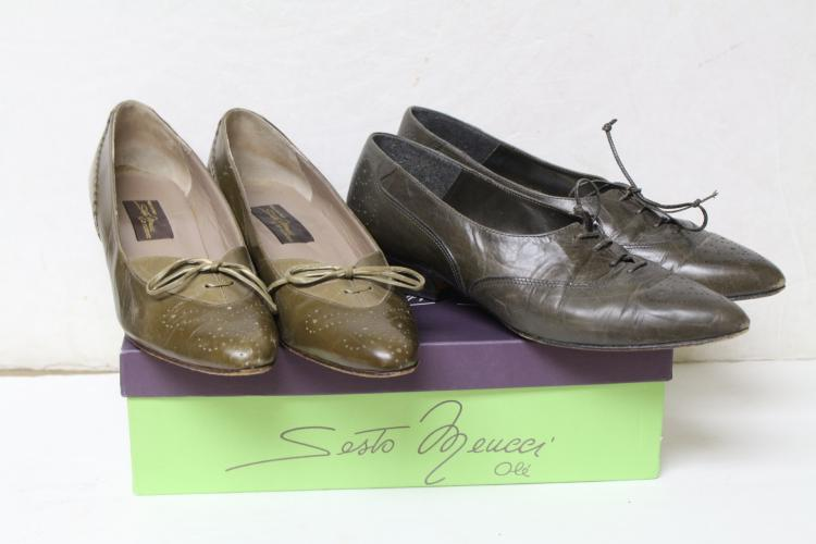Vintage Lot of 1980s Skimmer Shoes