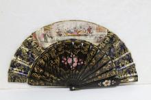Antique Victorian Courting Fan