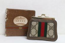 Vintage 1980s Gucci Wallet