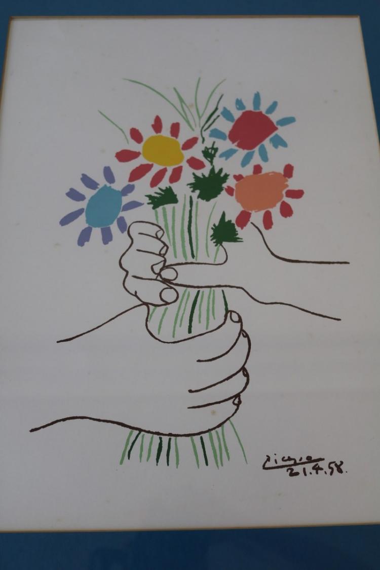 Picasso petite fleurs for Picasso petite fleurs