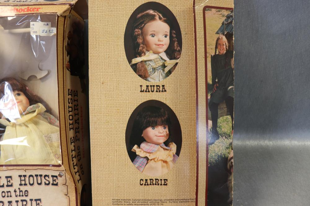 2 Vintage 1978 Little House On The Prairie Dolls