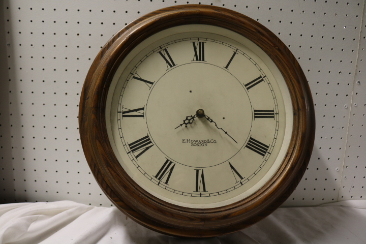 E. Howard & Co., Boston Round School House Clock