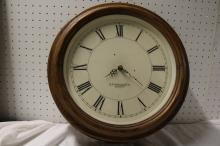 E. Howard & Co., Boston Round School House Clock