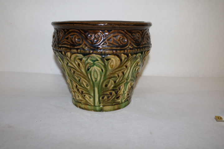 Majolica Pottery Planter