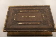 1860 Holy Bible by Carlton & Lanahan Publishing