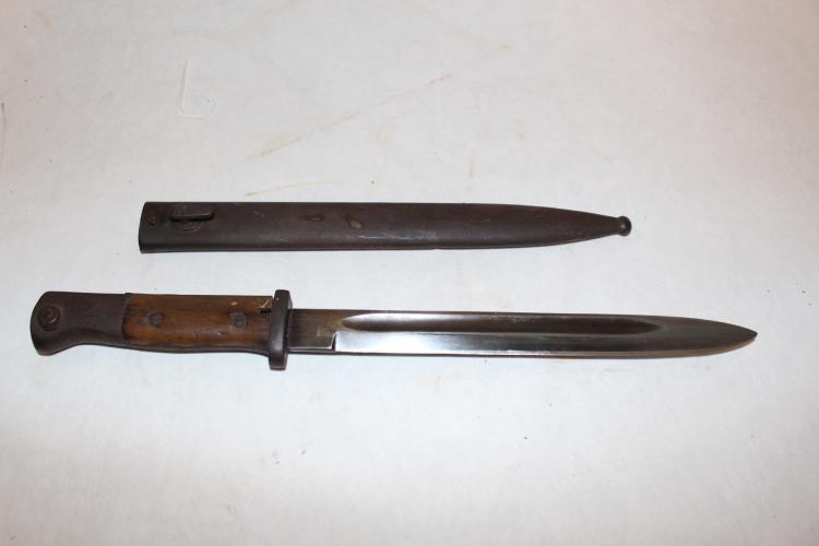Bayonet with Sheath marked 0050