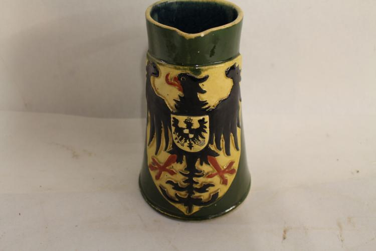 Antique German Pottery Pitcher