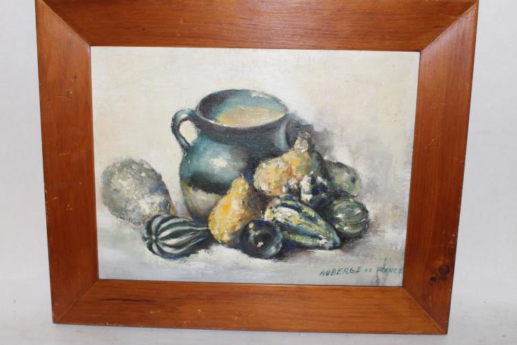 Still Life Fruit oil on board by Auberge of France