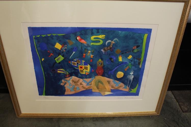 Signed and Numbered Lithograph by Silva Edwards #4/25