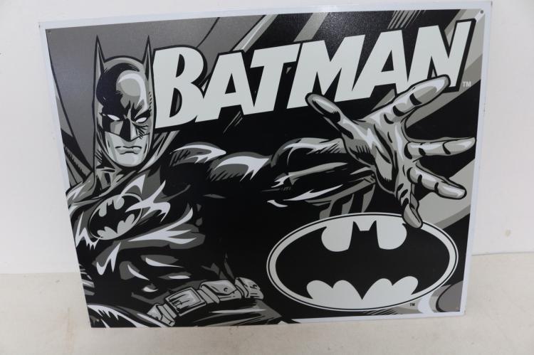 Batman Dou Tone, Tin Repro Sign