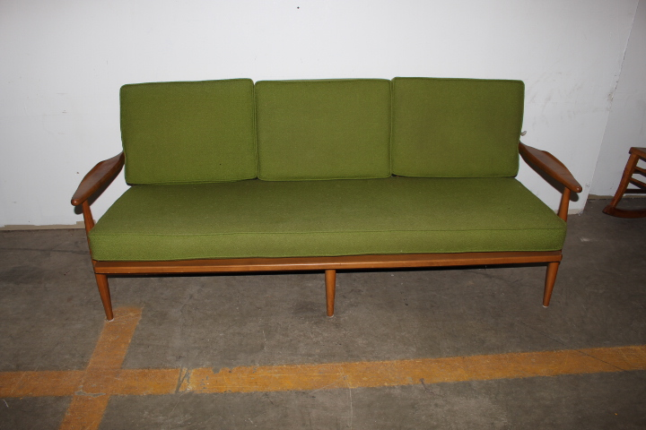 Mid Century Modern Sofa By Conant Ball Furniture Makers