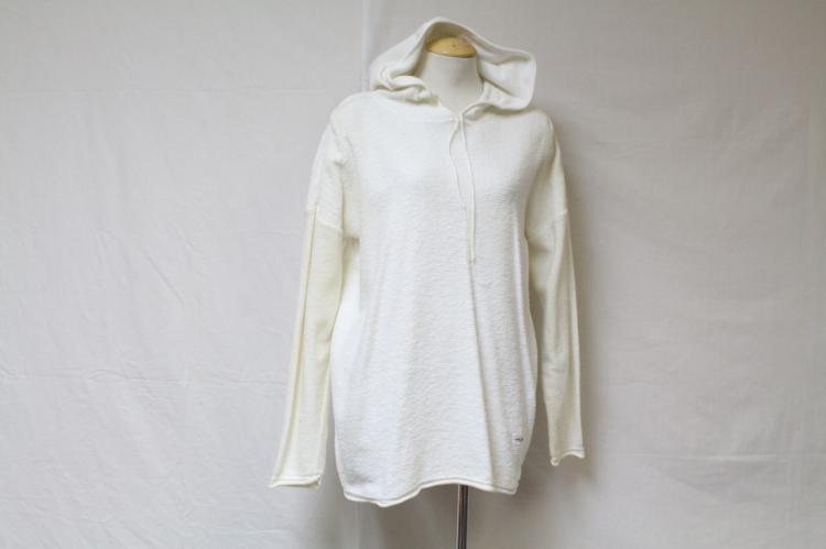 Vintage 1990s DKNY Hooded Sweatshirt