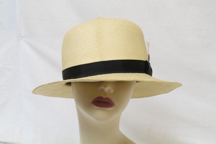 Vintage 1960s Men's Panama Hat