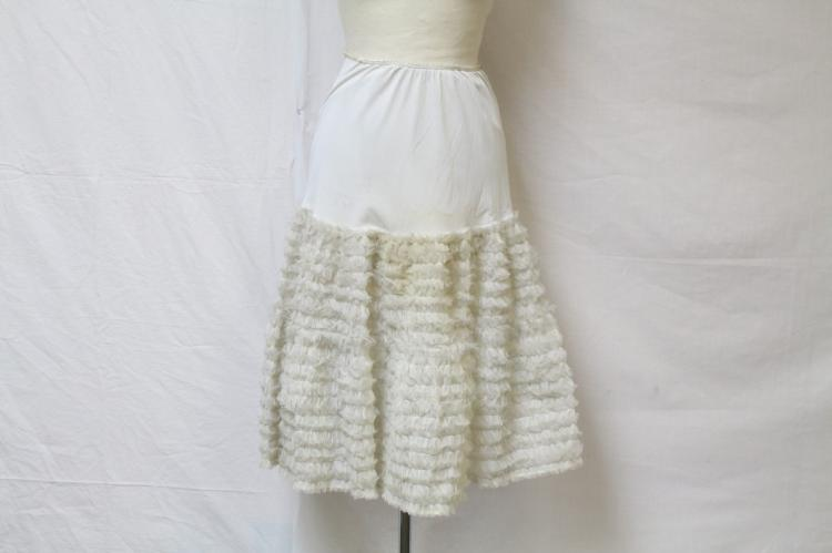 Vintage 1950s Ruffled Petticoat