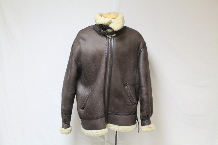 Vintage 1980s Men's Air Force Shearling Jacket