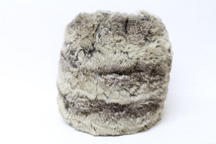 Vintage 1930s Chinchilla Fur Muff