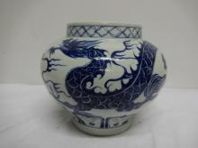 Blue & White under glaze, Blue Dragon, Yuan Style