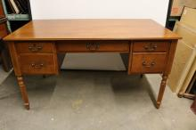 Cherry Knee Hole Desk