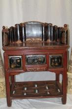 Antique oriental desk