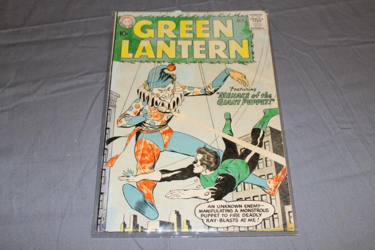 Green Lantern #1, 1960 DC