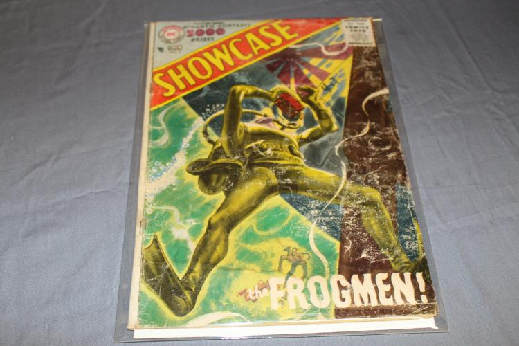 Scarce Showcase #3 early DC comic The Frogman