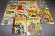 Golden age & Silver age lot of 10 comics