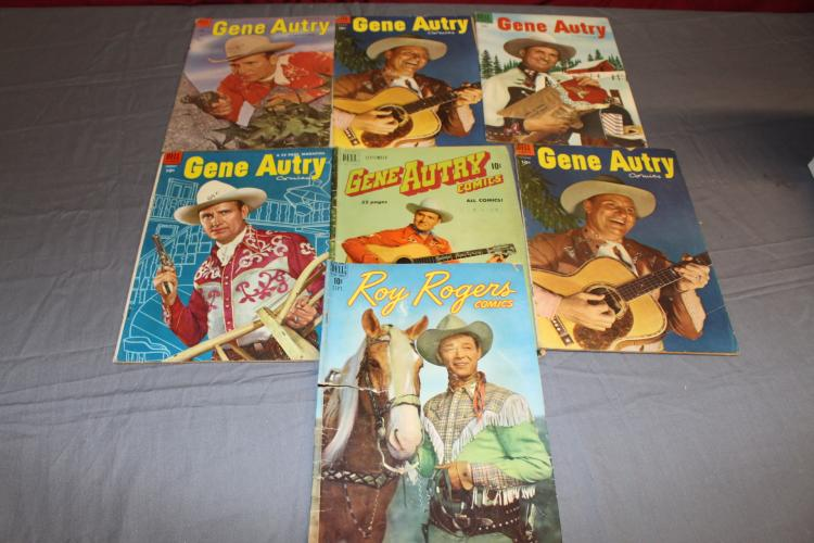 Gene Autry lot 1940's & 1950's comics
