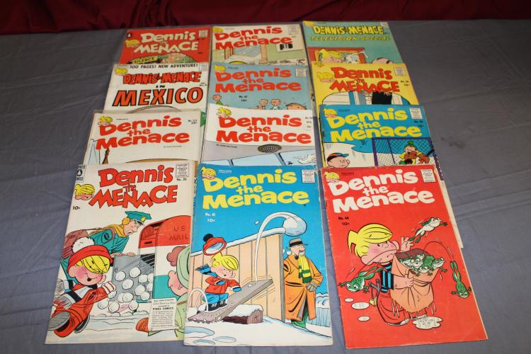 Early Dennis the Menace #23 & up