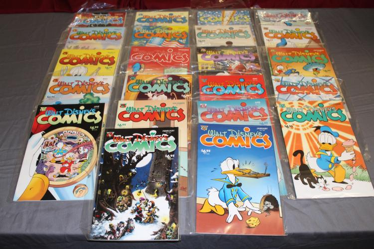 lot of Walt Disney comics and stories, Gladstone, mint collection