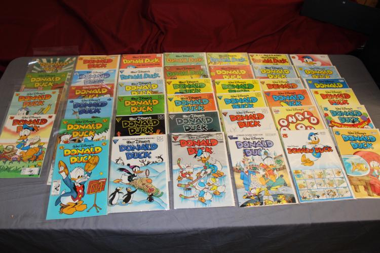 lot of 40 near mint Donald Duck comics, 9.6 to 9.8