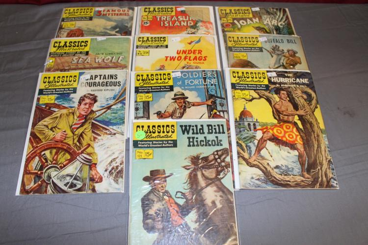 nice lot of Classics Illustrated