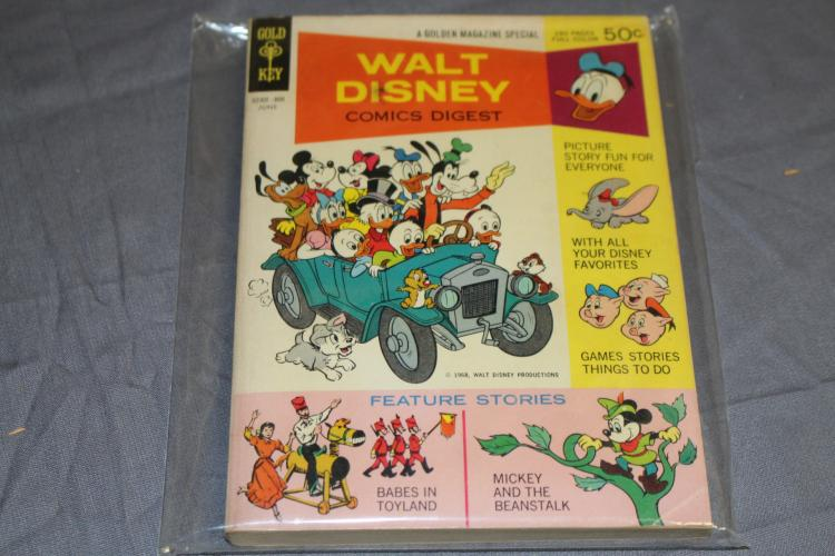 Walt Disney comic Digest #1, fine