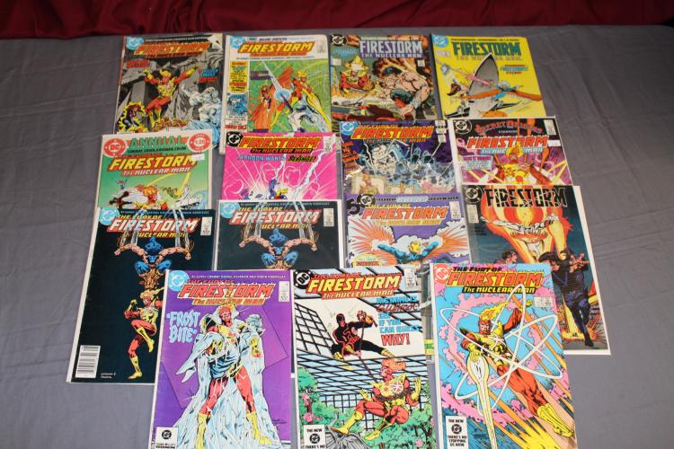 Firestorm, 15 comics, various issues, very good to very fine