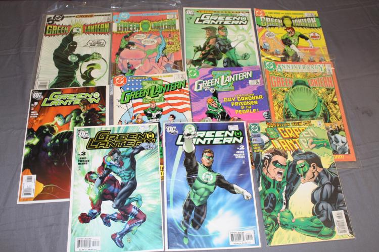 Green Lantern #200 & others in this 11 comic book lot
