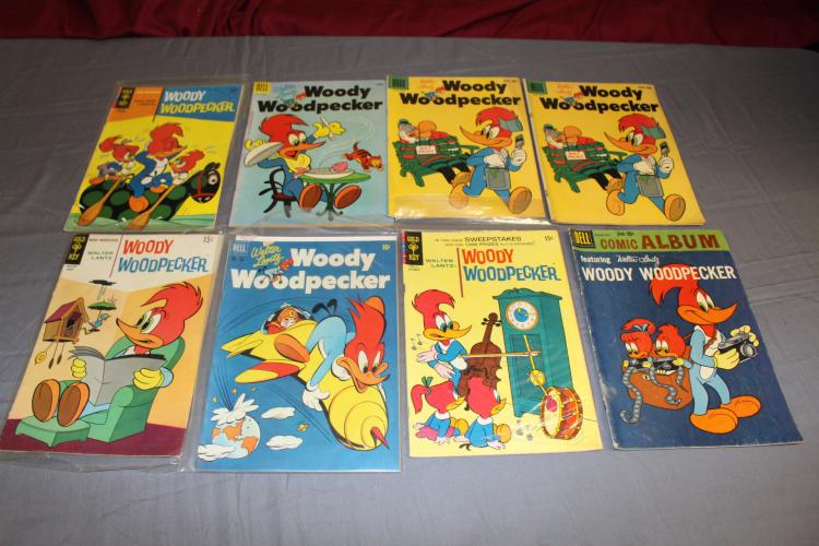 Woody Woodpecker collection, Walter Lantz