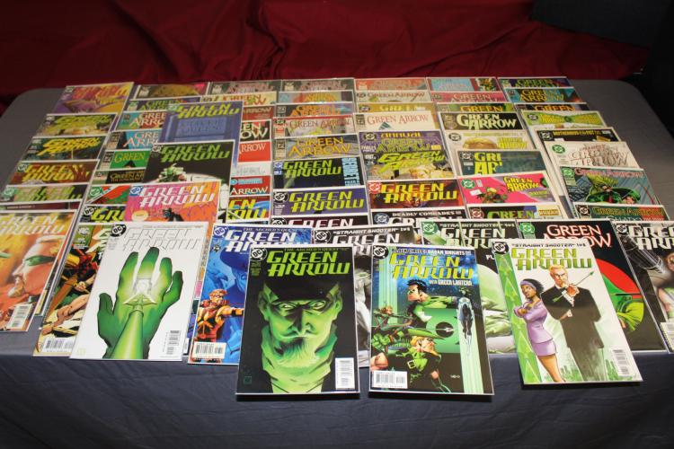 Fantastic lot of 69 Green Arrow comics, near mint