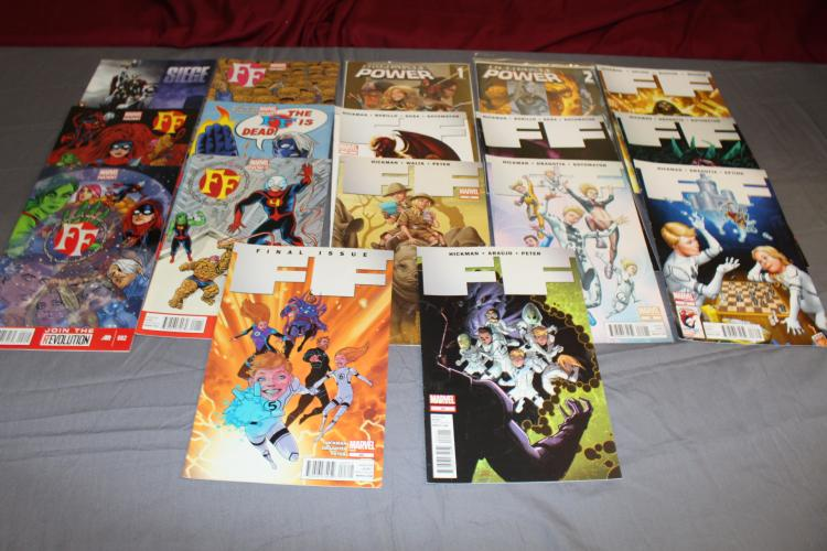 Great Fantastic Four  lot of 17 near mint comics