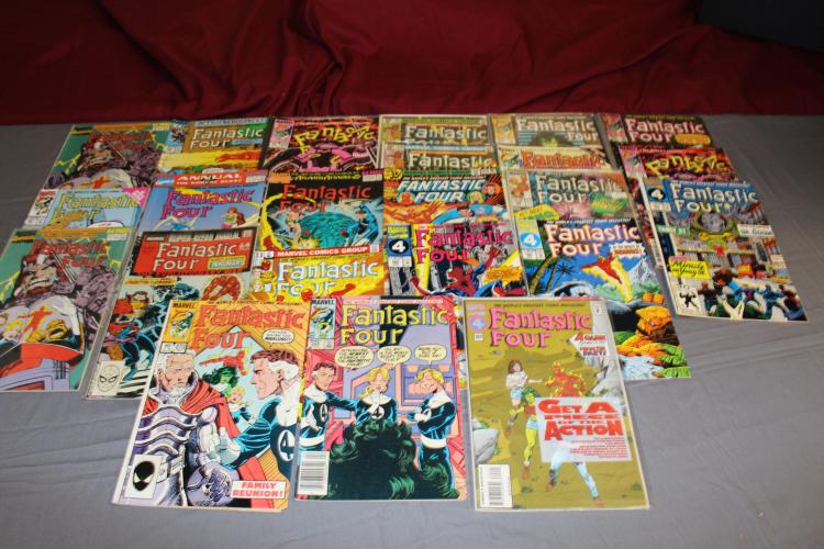 Fantastic Four series one lot of 23 comics