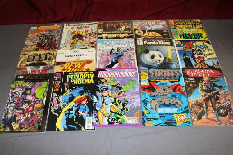 lot of 24 #1 comics, nice lot all near mint