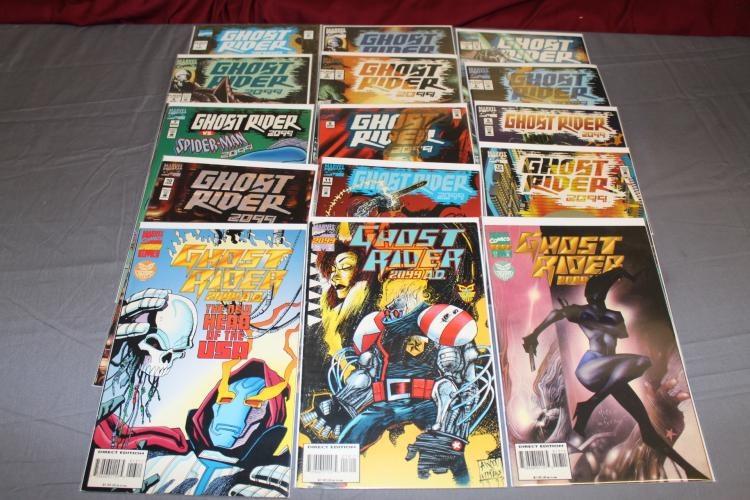 Ghost Rider 2099 lot of 15 comics