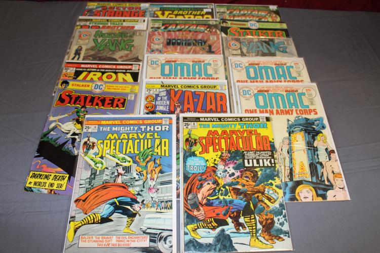 lot of 17 Superhero Bronze age comics, mostly 20 & 25 cent covers