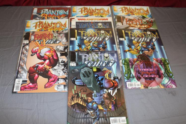10 comic lot Phantom Force & other, near mint
