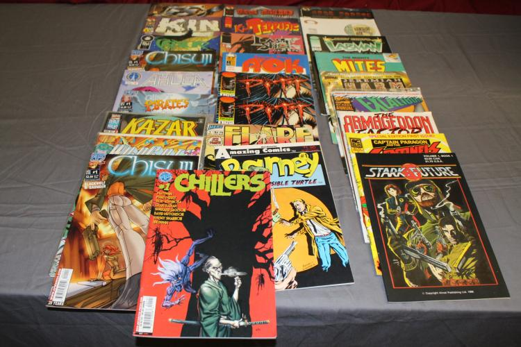 lot of 27 #1 comics, great lot